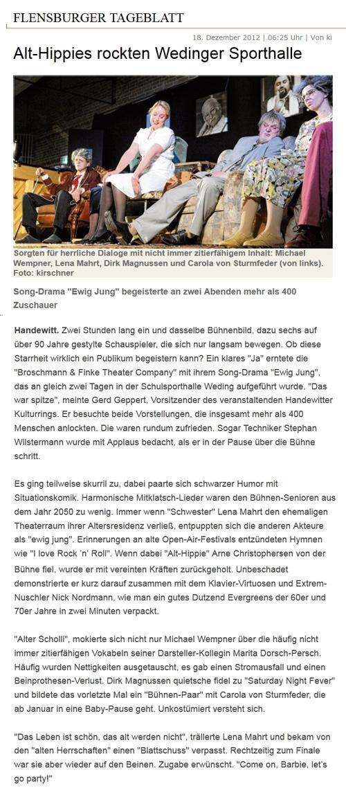 Ewig Jung in Weding