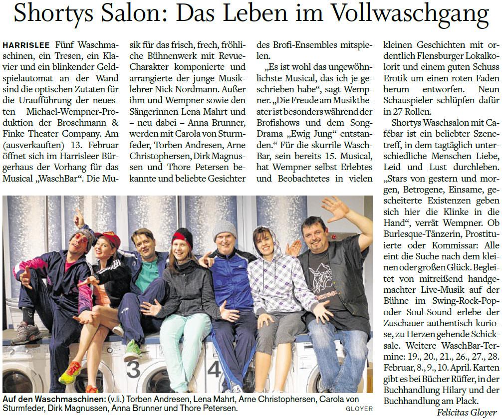 """Bericht zur Premiere der BroFi-Show """"Wär' ja gelacht"""""""