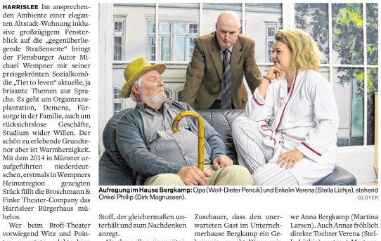 """Presse: Kritik zu """"Tiet to leven"""""""